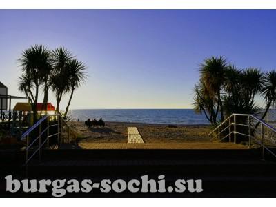Пансионат «Бургас», фото пляжа
