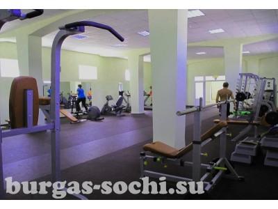 Пансионат «Бургас»,спорт, тренажерный зал
