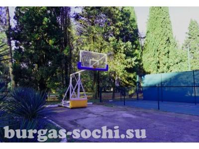 Пансионат «Бургас»,спорт, баскетбольная блощадка