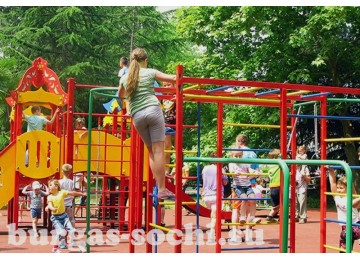 Пансионат «Бургас», детская площадка, детская анимация, детская комната
