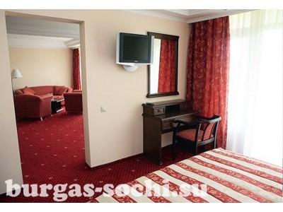 Пансионат «Бургас», «Люкс VIP 2-местный 2 -комнатный»